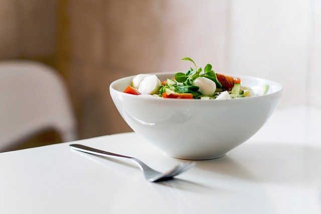 野菜や果物中心の食生活